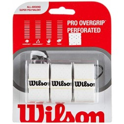 Grips Wilson Pro Overgrip Perforated 3pack